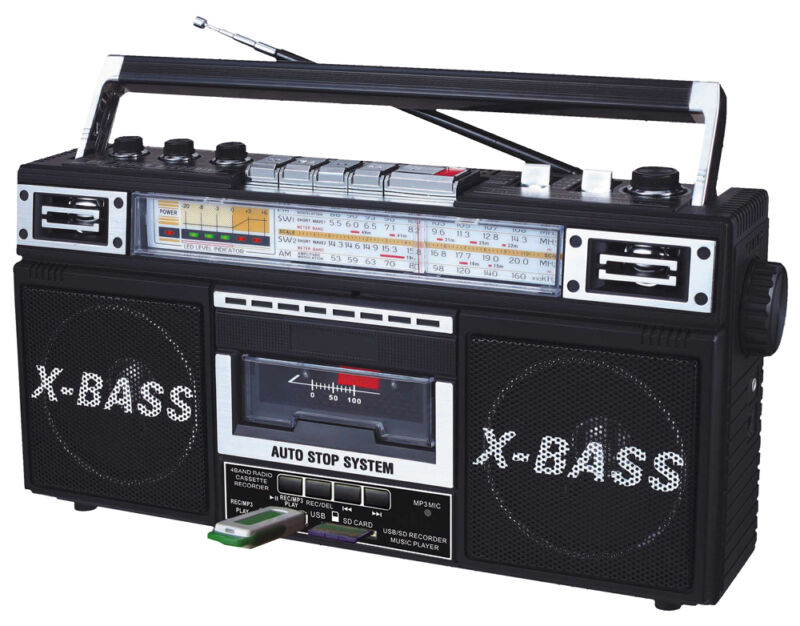Radio & Cassette Tape Converter Recorder to Digital MP3 USB/SD Player Bluetooth