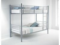 BRANDNEW STRONG METAL BUNK BED WITH MATTRESS!!!!! SINGLE TOP & SINGLE BOTTOM