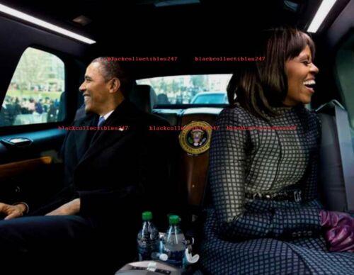 PRESIDENT BARACK OBAMA Photo 5x7 MICHELLE Obama Inauguration 2013 Democratic USA
