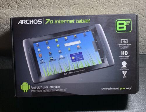 Archos Tablet 70 b , 8GB, Wi-Fi, 7in - Black - $50.00