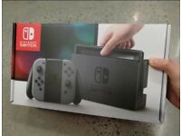 Nintendo Switch- Free game included - Boxed as new, never used - comes with all Boxed accessories