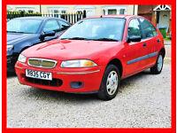 CHEAP -- Rover 200 -- 1.4 Manual 5 Door -- Low Cost Car -- alike vauxhall corsa toyota yaris