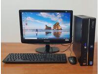 Complete Stone PC Computer, Intel i3-4130, Windows 10, 8GB RAM, 500GB HHD