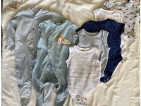 Bundle of Baby Clothes 0-3Months