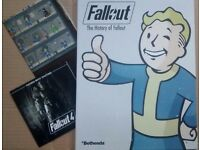 Fallout 4 Franchise Book, Poster and Soundtrack CD. Brand New.