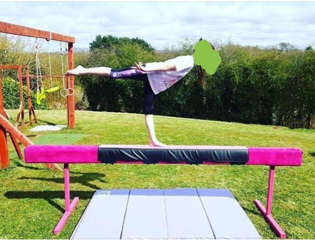Gymnastics High Beam