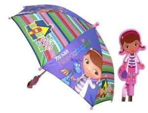 Disney Doc McStuffins Molded Handle Kids Umbrella