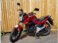 (2015) Honda GLR125 1WH-F / CB125F / 125cc _ Springbourne, Bournemouth