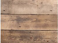 29sqm Reclaimed Pine Floorboards Straight edge