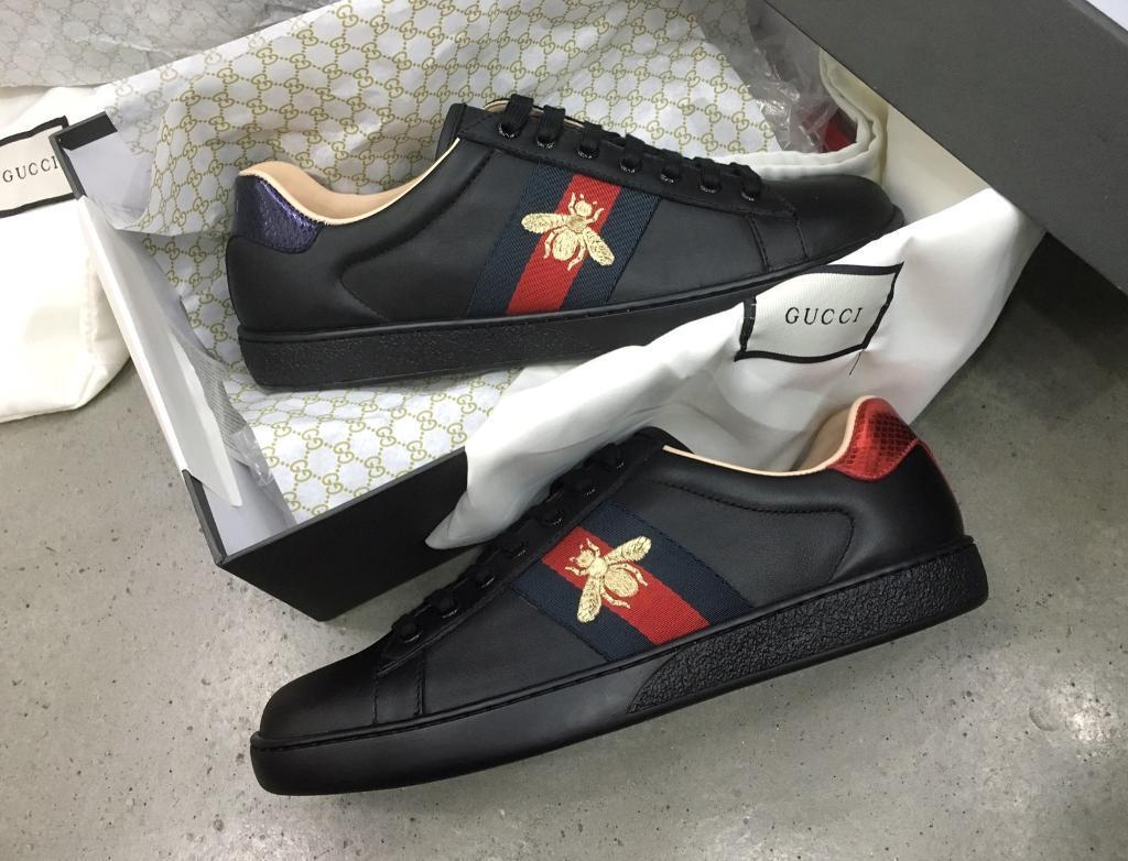 855c4fb8aa2 Authentic Gucci Ace Bee Sneaker