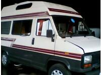 Talbot Express Motor home camper auto sleeper petrol px welcome rolling project 12 months mot