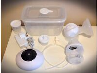 Tommee Tippee Closer To Nature Electric Breast Pump Set