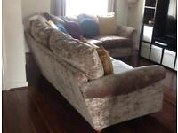 Large corner in sofa good condition, reduced as space needed