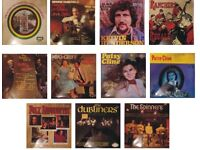 Folk Country Music Vinyl LPs - Collection of 11 in good condition