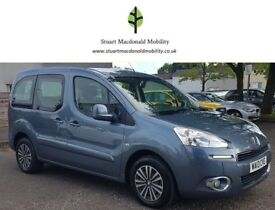 2013 PEUGEOT PARTNER TEPEE 1.6 HDi AUTOMATIC CRUISE CONTROL WHEELCHAIR ACCESSIBLE DISABLED VEHICLE