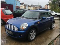 Mini Cooper 2007 facelift model. 72k electric blue stunning condition