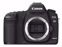 Canon 5D Mk2 (showing errors 70 & 80)