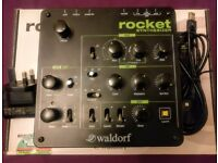 Waldorf Rocket Synthesiser (mint condition)