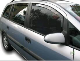 Vauxhall zafira wind defectors