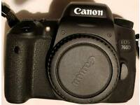 Canon 760d body only .