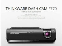 Thinkware Dash Cam F770 + Rear Cam + 32GB