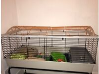 Indoor Rabbit Hutch/Cage for sale.