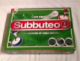 "SUBBUTEO ""TEAM EDITION"" FOOTBALL GAME. 2014 HASBRO EDITION. COMPLETE VGC."
