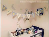 Handmade Nursery Bunting