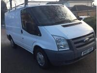 Ford transit 85 t260s fwd 2007 12m mot (minter) not relay sprinter connect combo