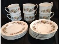 Vintage tea set Bone china