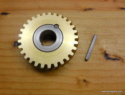 Hobart A120-a200 00-124751-0003 60 Hz Bronze Worm Wheel Gear Bushing Key