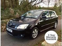 TOYOTA COROLLA 1.4 VVTI COLOUR COLLECTION 5dr - 2 Owners - 6 MONTHS WARRANTY & AA COVER