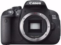 Canon EOS 700D Digital SLR, Brand New in Box. Unused