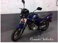 125 cc Kymco Pulsar LX , blue, 500 miles , IDEAL TRAINER/STARTER BIKE