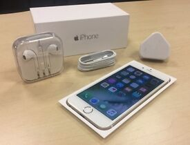 Boxed Gold Apple iPhone 6 16GB On Vodafone / Lebara Networks Mobile Phone + Warranty