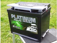 Platinum 12v Leisure Battery