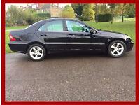 2005 Mercedes-Benz C Class -- Avantgarde SE Saloon -- 4 Doors -- Petrol -- Automatic -- Hpi Clear
