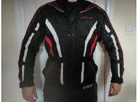 Motorcycle Jacket pet/smoke free home size L