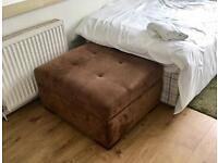 Ottoman single bed day bed foot stool
