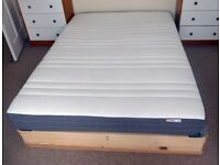 Ikea Morgedal Foam Mattress, Standard Double, very good condition -- £50 or best offer