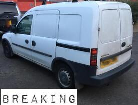 2009 Vauxhall combo van (breaking)