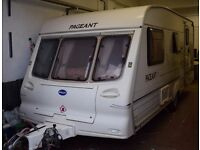 Bailey Pageant Moselle 2001 - 4 berth caravan