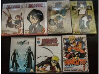 Manga/Anime books & dvds