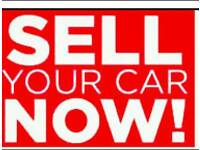 Cars for scrap and we buy used car