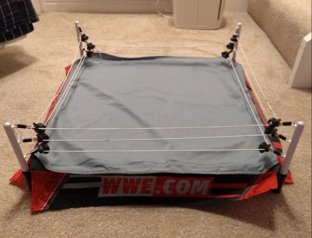 Large WWE wrestling ring toy | in Chryston, Glasgow | Gumtree