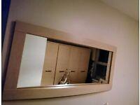 HARVEY'S BEDROOM FURNITURE wardrobe, drawers and mirror