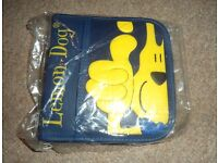Dark blue Lemon Dog CD/DVD/Blu-ray/Game disc carry case/holder/sleeves/storage