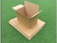 "Job Lot 100 x Large 22""x14""x14"" SW Packaging Moving Storage Box Boxes Parcel"