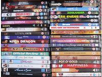 DVD's 75p each