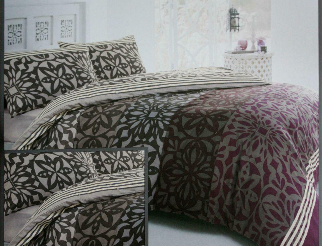 Brand New Sealed Ports Of Call Jeff Banks Bed Duvet Set Cover Dakota Double Size